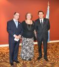 Consules de Ciudad del Este y Foz de Iguazu junto a la agregada consular